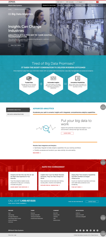 HDS Redesign - Big Data