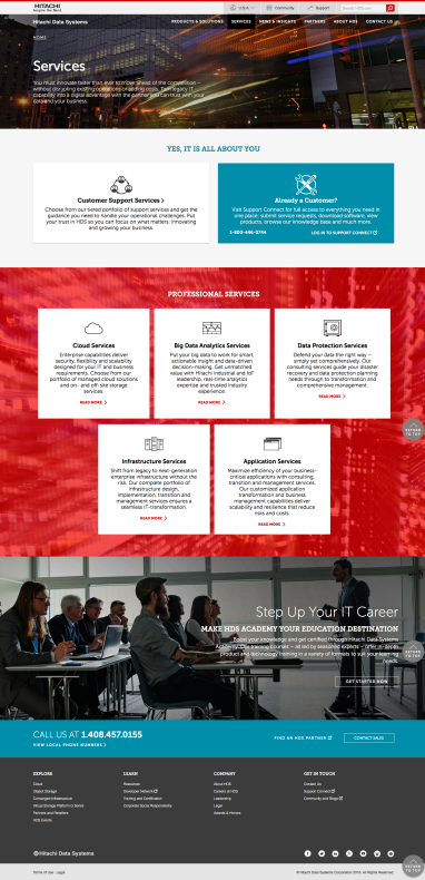 HDS Redesign - Services